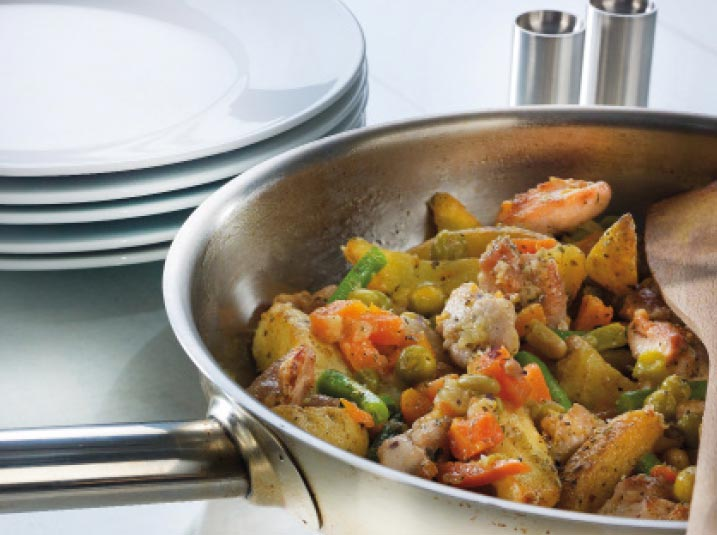 Franse wokschotel